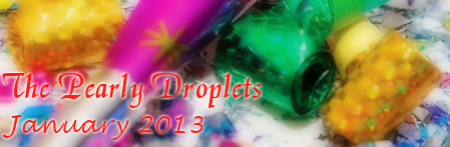 Pearly Droplets Newsletter January 2013