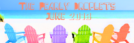 pearly droplets newsletter summer header